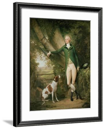 Portrait of John Cockburn Ross of Rochester and Shadwick-Alexander Nasmyth-Framed Giclee Print