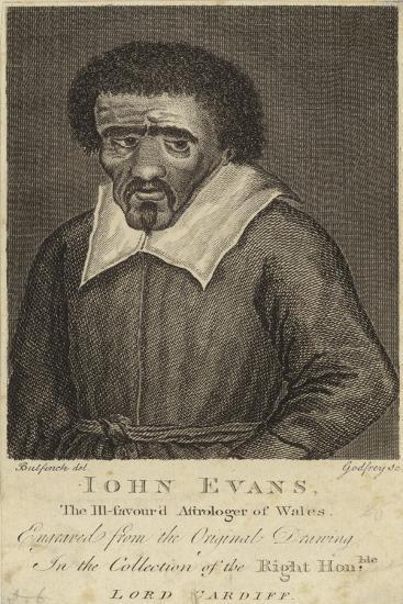 Portrait of John Evans--Giclee Print