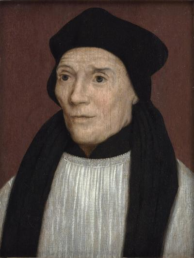 Portrait of John Fisher, Bishop of Rochester, Mid-16th Century-Hans Holbein the Younger-Giclee Print