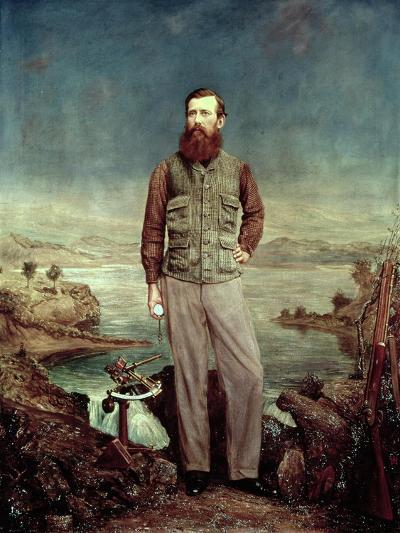 Portrait of John Hanning Speke (1827-64)-James Watney Wilson-Giclee Print
