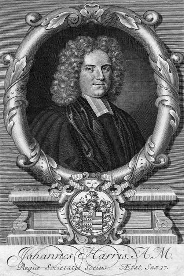 Portrait of John Harris, Late 17th or Early 18th Century-G White-Giclee Print