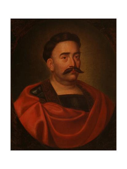 Portrait of John III Sobieski (1629-169), King of Poland and Grand Duke of Lithuania--Giclee Print
