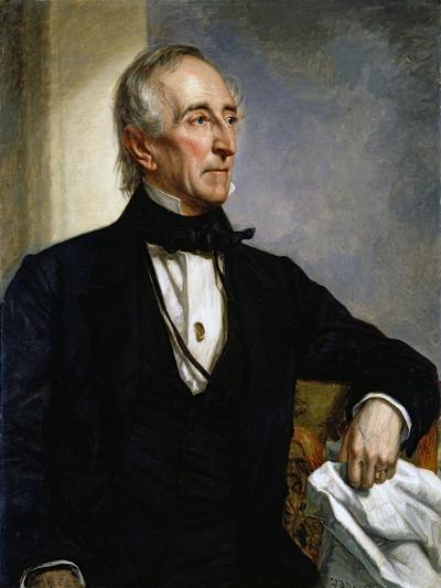 Portrait of John Tyler by George Peter Alexander Healy--Giclee Print