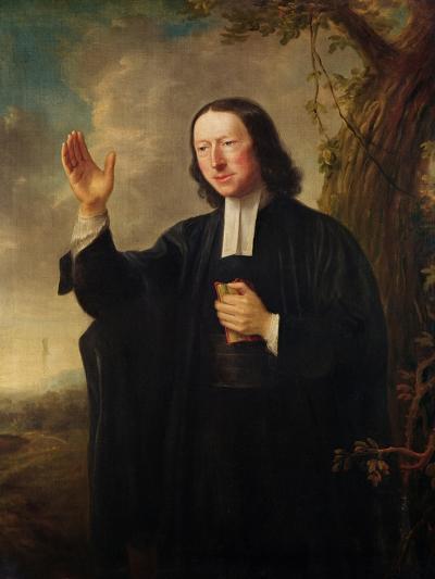 Portrait of John Wesley, c.1766-Nathaniel Hone-Giclee Print