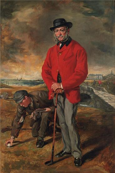 Portrait of John Whyte-Melville, of Bennochy and Strathkinness (1797-188)-Francis Grant-Giclee Print