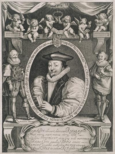 Portrait of John Williams (1582-1650) Bishop of Lincoln and Dean of Westminster-Francis Delaram-Giclee Print