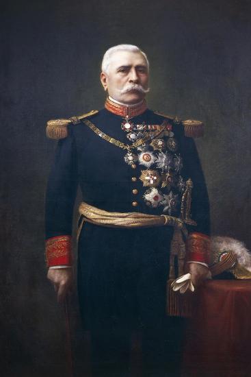 Portrait of Jose De La Cruz Porfirio Diaz Mory--Giclee Print