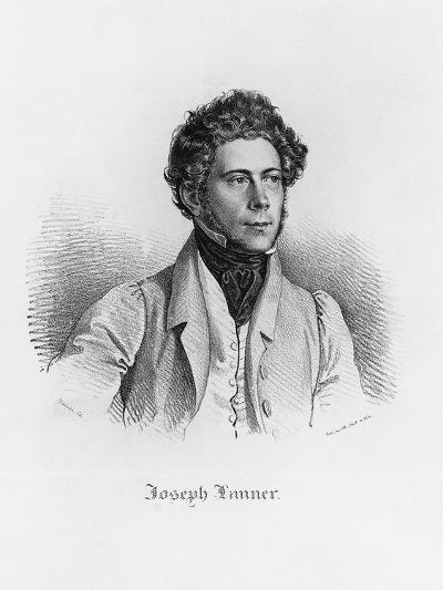 Portrait of Josef Franz Karl Lanner--Giclee Print
