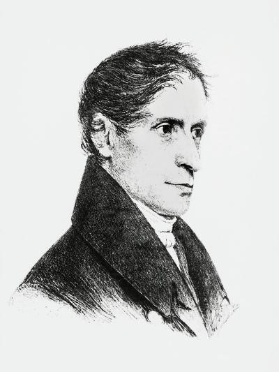 Portrait of Joseph Freiherr Von Eichendorff--Giclee Print