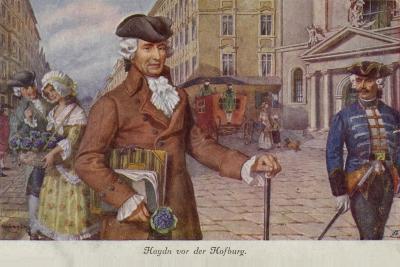 Portrait of Joseph Haydn--Giclee Print