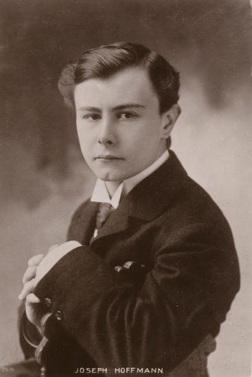 Portrait of Joseph Hofmann--Photographic Print