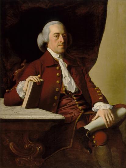 Portrait of Joseph Scott, c.1765-John Singleton Copley-Giclee Print