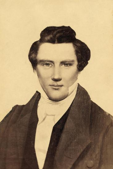 Portrait of Joseph Smith (1805-44) the Founder of Mormonism--Giclee Print
