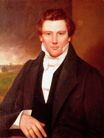 Portrait of Joseph Smith--Giclee Print