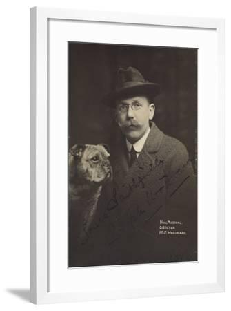 Portrait of Joseph Woodward--Framed Photographic Print