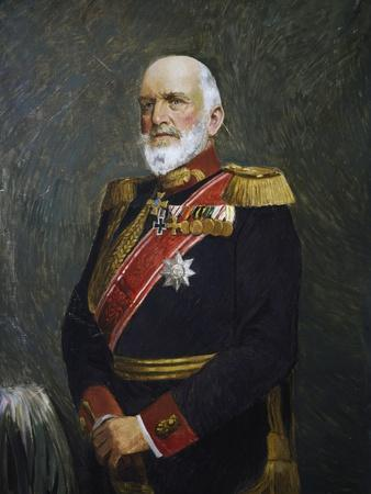 Portrait of Josias Von Heeringen--Giclee Print