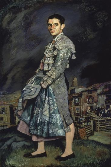 Portrait of Juan Belmonte, 1924-Ignacio Zuloaga-Giclee Print