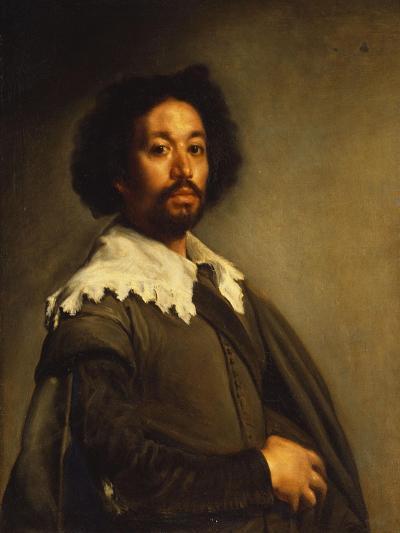 Portrait of Juan De Pareja-Diego Velazquez-Giclee Print