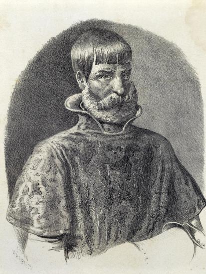 Portrait of Juan Ponce De Leon, 1513--Giclee Print