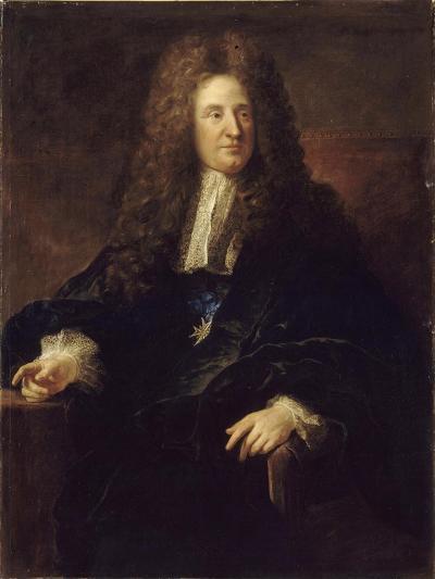 Portrait of Jules Hardouin-Mansart (1646-170)-François de Troy-Giclee Print