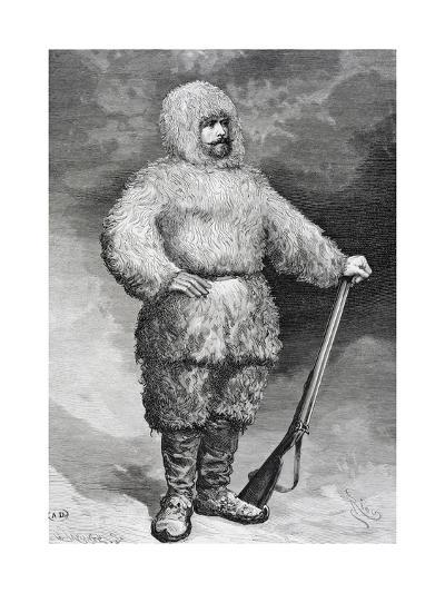 Portrait of Julius Von Payer--Giclee Print