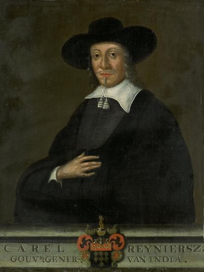 Portrait of Karel Reyniersz, Governor-General of the Dutch East Indies--Art Print