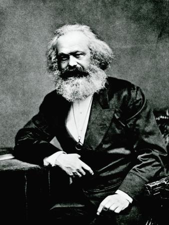 Portrait of Karl Marx