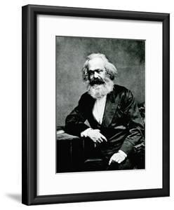 Portrait of Karl Marx