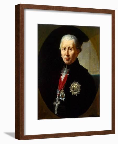 Portrait of Karl Theodor Von Dalberg, (1744-181), 1811-Robert Lefevre-Framed Giclee Print