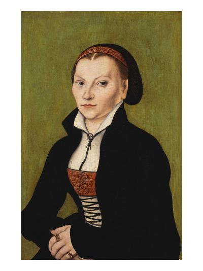 Portrait of Katharina Von Bora, 1472-1553-Lucas Cranach the Elder-Giclee Print