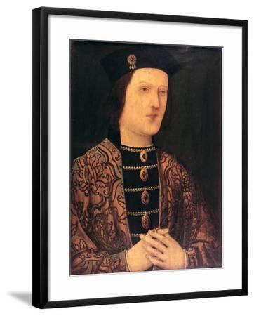 Portrait of King Edward IV of England--Framed Giclee Print