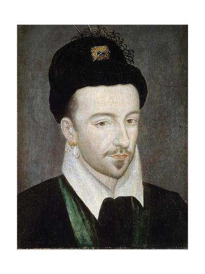Portrait of King Henri III - Attributed to Jean Ducourt--Giclee Print