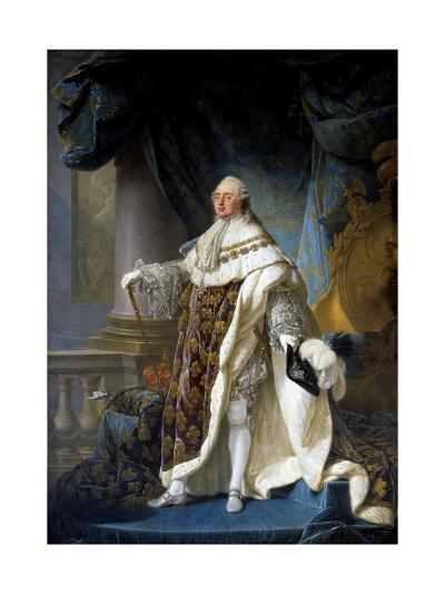 Portrait of King Louis XVI by Antoine-Francois Callet--Giclee Print