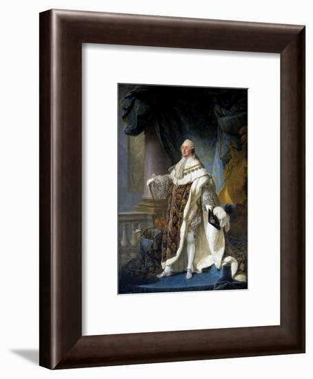 Portrait of King Louis XVI by Antoine-Francois Callet--Framed Giclee Print