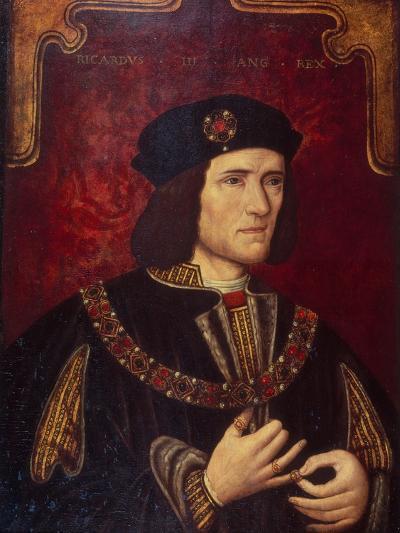 Portrait of King Richard III--Giclee Print