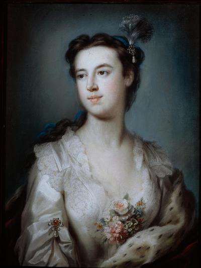 Portrait of Lady Dorothy Boyle, Countess of Euston-George Knapton-Giclee Print