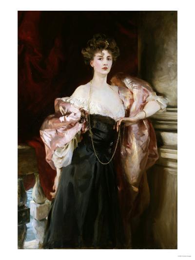Portrait of Lady Helen Vincent, Viscountess D'Abernon, 1904-Soren Emil Carlsen-Giclee Print