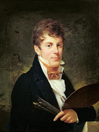 Portrait of Lancelot Theodore Turpin De Crisse-Louis Andre Gabriel Bouchet-Giclee Print