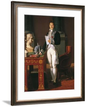 Portrait of Lazare Carnot--Framed Giclee Print