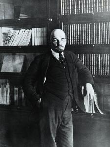 Portrait of Lenin in His Study