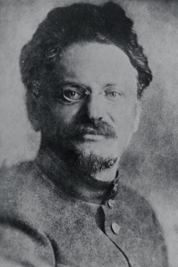 Portrait of Leon Trotsky--Photographic Print