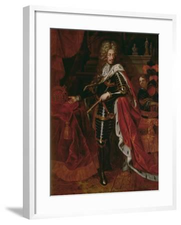 Portrait of Leopold I, Holy Roman Emperor (1640-1705)--Framed Giclee Print