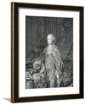 Portrait of Leopold II, Grand Duke of Tuscany--Framed Giclee Print