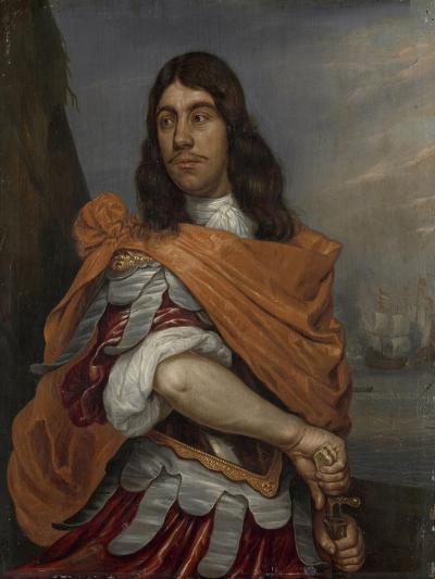 Portrait of Lieutenant-Admiral Cornelis Tromp in Roman Costume-Abraham Evertsz van Westerveld-Art Print