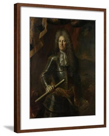 Portrait of Lieutenant-General Godard Van Reede, Lord of Amerongen-Adriaen Van Der Werff-Framed Art Print