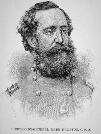 Portrait of Lieutenant General Wade Hampton--Giclee Print