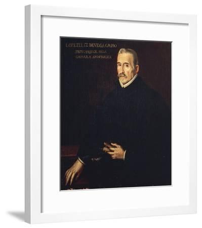 Portrait of Lope Felix De Vega Y Carpio--Framed Giclee Print
