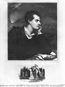 Portrait of Lord Byron (1788-1824)