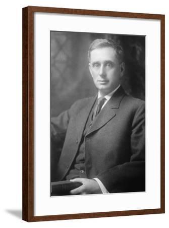 Portrait of Louis D. Brandeis--Framed Art Print