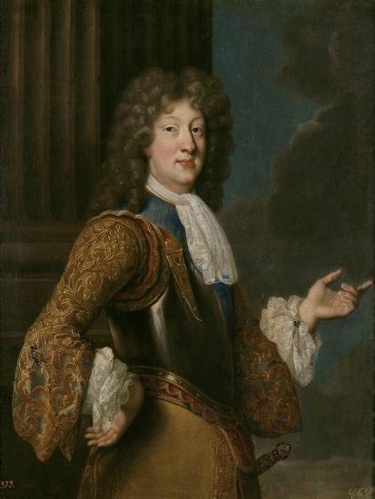 Portrait of Louis, Grand Dauphin of France-François de Troy-Giclee Print